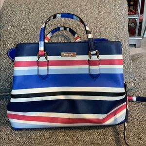 Kate Spade Striped Satchel